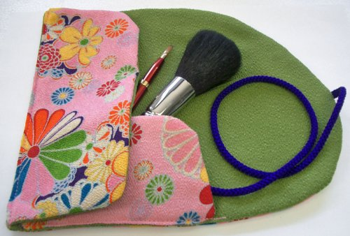 伝統工芸品 熊野筆 化粧ブラシセット フェイスブラシ&リップブラシ