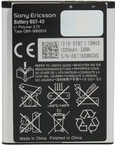 Sony-Ericsson-BST-43-1000mAh-Battery