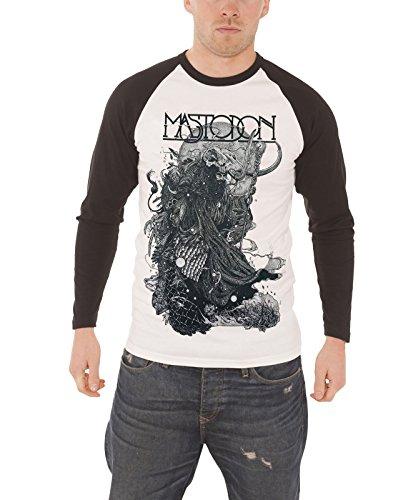 Mastodon - Top - Maniche lunghe  - Uomo bianco XX-Large