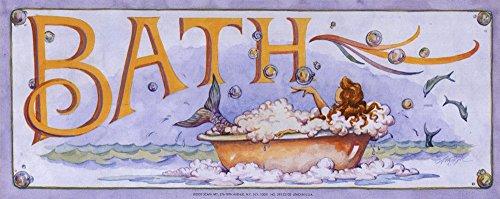 Bath (Mermaid) Art Print
