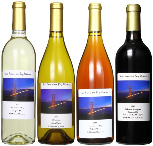San Francisco Bay Winery Four Courses Of Perfection Mixed Pack, 4 X 750 Ml