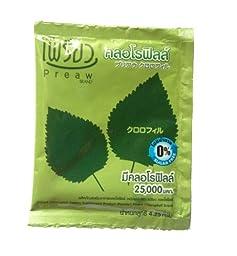 5x 4.25g Preaw Instant Chlorophyll Dietary Supplement Powder