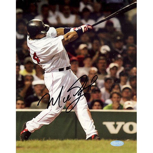 Manny Ramirez Vertical Home Swing 8X10 Photo (Signed In Black) front-640159