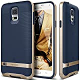 Galaxy S5 Case, Caseology [Wavelength Series] Textured Pattern Grip Cover [Navy Blue] [Shock Proof] for Samsung Galaxy S5 - Navy Blue