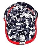 Nike Kids Hat, Dri-FIT Adjustable Cap (12/24 Months, Black/Gym Red)