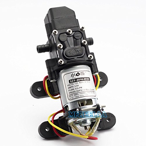 100psi dc12v 4l min solid electric diaphragm water pump for Boat lift motors near me