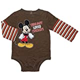 Disney Mickey THIS GUY LOVES TURKEY Thanksgiving Baby Boys Bodysuit Outfit
