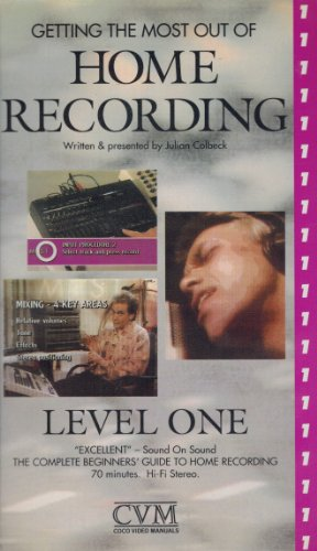 Getting The Most Out Of Home Recording: Level One (With Julian Colbeck)