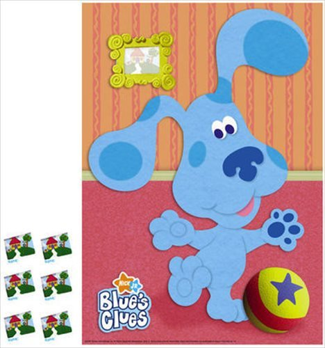 Blue's Clues Party Game Poster (1ct) - 1