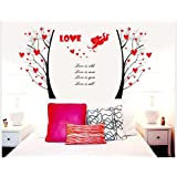 Decals Arts Love Cupid's Arrow Wall Sticker For Sofa TV Décor