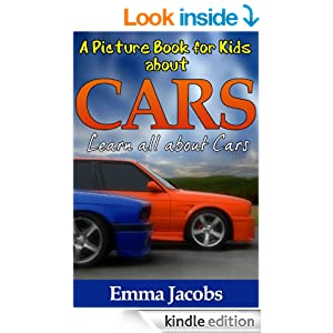 Amazon.com: Children's Book About Cars: A Kids Picture Book About Cars With Photos and Fun Facts