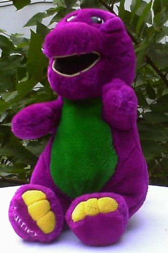"Barney Doll 12"" Plush Lovable Original Dinosaur front-608955"