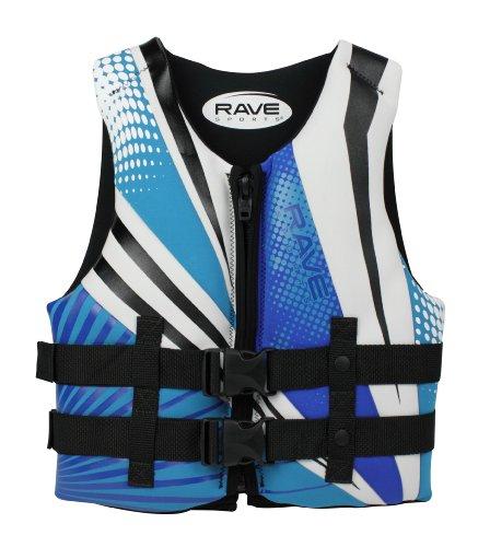 Rave Youth Neo Life Vest (Blue/White/Black)