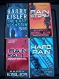 Barry Eisler's JOHN RAIN Thillers (4 Books) (Rain Storm / Hard Rain / Rain Fall / The Last Assassin)