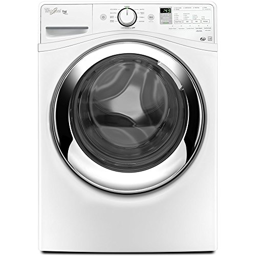 Whirlpool WFW87HEDW Duet 4.3 Cu. Ft. Unsullied Front Load Steam Washer
