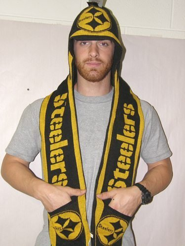 NFL Pittsburgh Steelers Hoody Scarf
