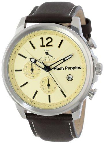 Hush Puppies HP.6065M.2.2519 - Orologio da polso, uomo, pelle, colore: marrone