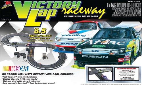 Life-Like Victory Lap Nascar Electric Slot Car Race Set