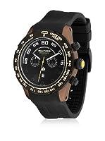 BULTACO Reloj con movimiento Miyota Unisex H1SC48C-SB1 Marrón/Negro