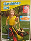 American Plastic Toy pieces Gardener Set