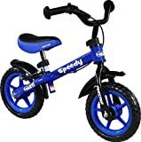 Bicicleta infantil sin pedales - Bicicleta sin pedales - Bicicleta equilibrio ARTI Speedy M Luxe Blue First Bike