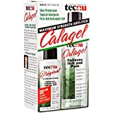 Grabber Outdoors Calagel Anti-itch Gel, With Free 2-Ounce Tecnu Outdoor Skin Cleanser, 6-Ounce (Pack of 3)