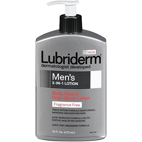 lubriderm-lubriderm-mens-3in1-lotion-body-face-and-postshave-lotion-fragrance-free-16-ounce-by-lubri