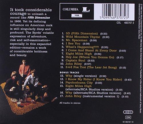 Byrds Captain Soul 5D Fifth Dimension