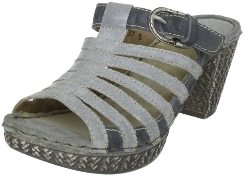 Josef Seibel Schuhfabrik GmbH Julia 03 Clogs And Mules Womens Gray Grau (ash/fog) Size: 6 (39 EU)
