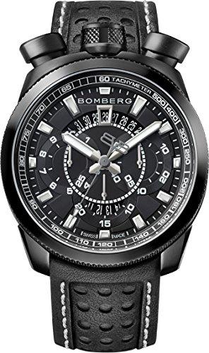 Bomberg BS45CHPBA.014.3 Bolt-68 collection Watch - Swiss Made - 45 mm - Convertible pocket watch