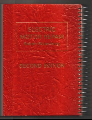read online electric motor repair second edition a