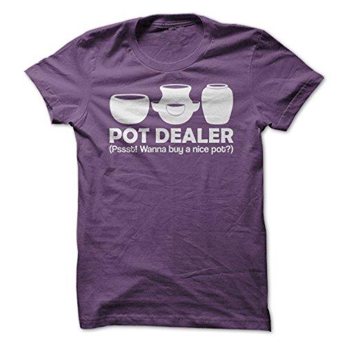 Gnarly-Tees-Mens-Pot-Dealer-T-Shirt-S-Purple