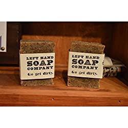 Left Hand Soap Co. - Soap Bar 2oz - Black Warrior Brewing Soap