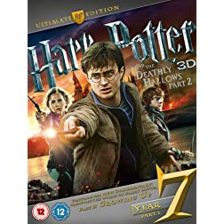 Harry Potter & The Deathly Hallows Part 2 [Blu-ray]