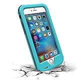 iPhone6 ケース iPhone6s ケース ZVE® 生活防水ケース アイフォン6sケース 指紋認識可 落下防止 4.7インチ 多機能スマホケース 防滴 防塵 防雪 耐衝撃カバ ー 本体液晶保護フィルム付き(iphone6/6s ブルー)