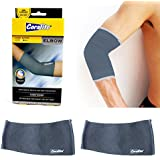 2 Elbow Brace Support Tennis Sports Compression Sleeve Pain Relief Therapy New !, Fits Sizes 7.75-9.0 In (20-23...