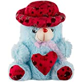 Generic Teddy Bear (Blue And Red)