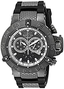Invicta Men's 5508 Subaqua Sport Black Ion-Plated Chronograph Watch
