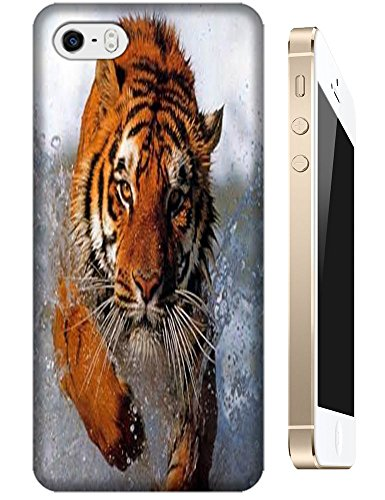 Tiger Case Cover Hard Back Cases Beautiful Nice Cute Animal Hot Selling Cell Phone Cases For Apple Accessories Iphone 5C # 12