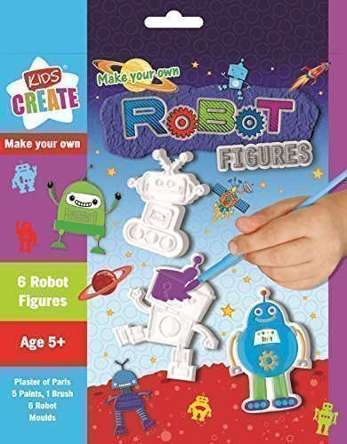 5starwarehouser-kids-plaster-of-paris-fun-mould-model-paint-toy-birthday-present-boys-girls-robots