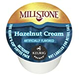 Millstone Coffee, Hazelnut Cream,  K-Cup Portion Pack for Keurig K-Cup Brewers, 12-Count (Pack of 6)