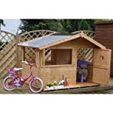 Tulip Potting Playhouse with Half Roof
