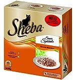 Sheba 8er Multipack Sauce Speciale, Klassiker, 8 x 85g, 8er Pack (64 x 85 g)