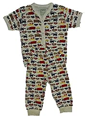 Wise Guys Printed Cotton Unisex Top & Pajama for Baby Kids Clothing Set (18 to 24 Months) CLOTHSET28