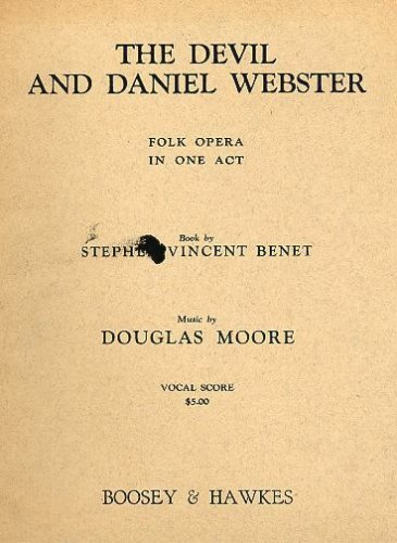 The devil and daniel webster essay
