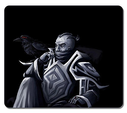 Customized Fashion Style Textured Surface Water Resistent Mousepad Swain League Of Legends High Quality Non-Slip Gaming Mouse Pads