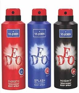 VI JOHN Combo Deo Set For Men