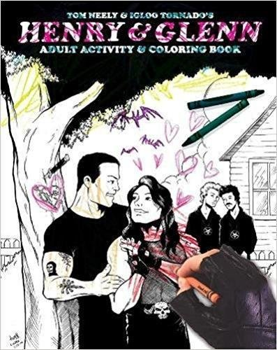 Henry & Glenn Adult Activity and Coloring Book [Neely, Tom] (Tapa Blanda)