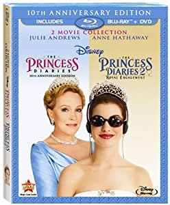 The Princess Diaries: 10th Anniversary Collection (The Princess Diaries & The Princess Diaries 2: Royal Engagement) [Blu-ray + DVD Combo Pack in Blu-ray Packaging]