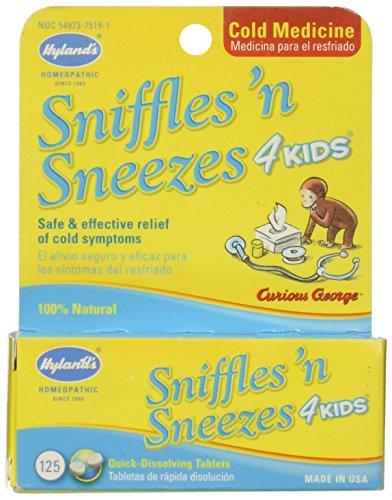 Hylands Sniffles N Sneezes 4 Kids Cold Medicine